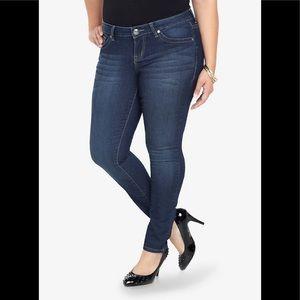 Torrid denim straight leg Skinny blue Jeans